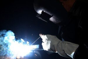 welding metal in East Lancaster class