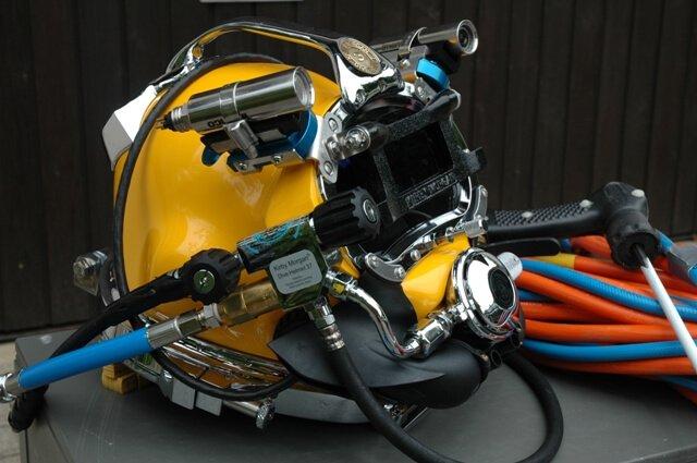 underwater welding equipment